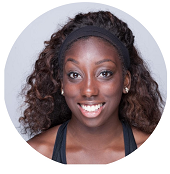 Janeil Mason - Janeil Mason is an independent personal trainer and group fitness instructor that values her clients' enjoyment while training. Janeil has taught at various corporate gyms and boutique studios in NY, and most recently received her Master's in Exercise Physiology from Teacher's College, Columbia University. Her personal fitness brand FitandLit promotes understanding the mind body connection with exercise and encourages her participants to understand the mental strength that can be gained from training their bodies. Janeil enjoys participating in all kinds of physical pursuits including: athletic conditioning, dancing, running, lifting and more. If you are looking for a fitness buddy to do new things with, hit her up!