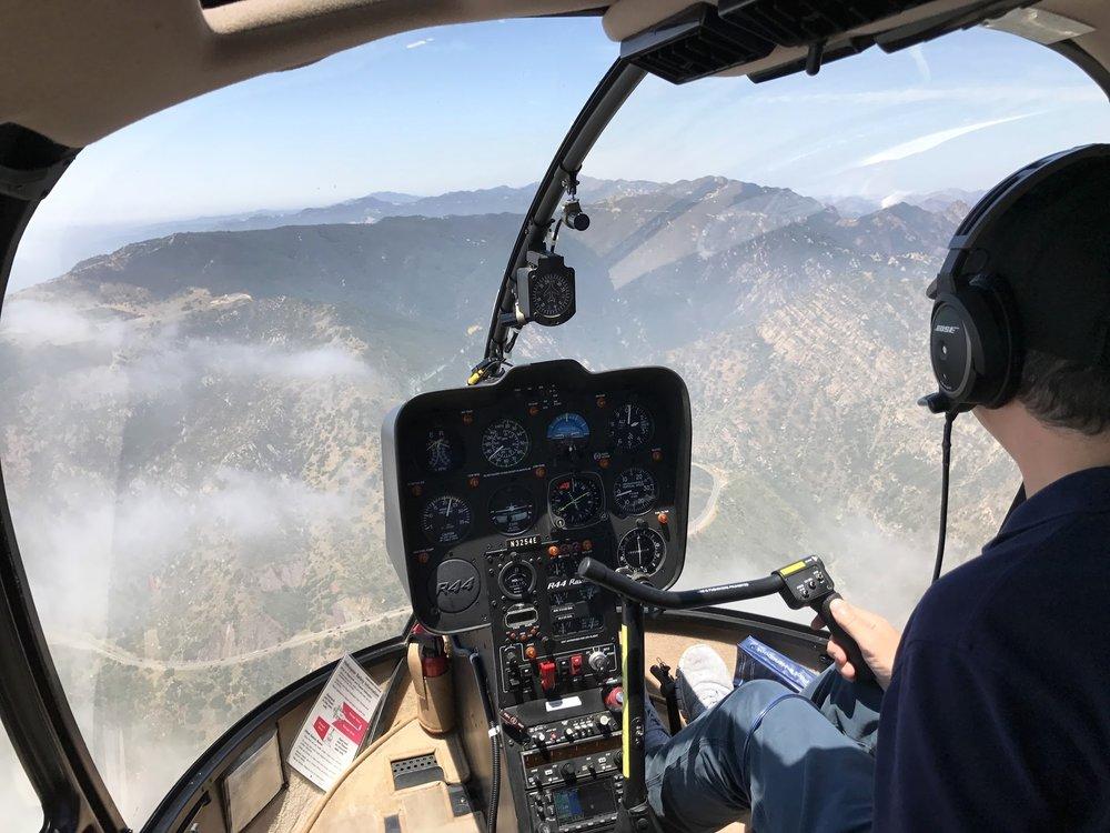 Over Topanga Canyon