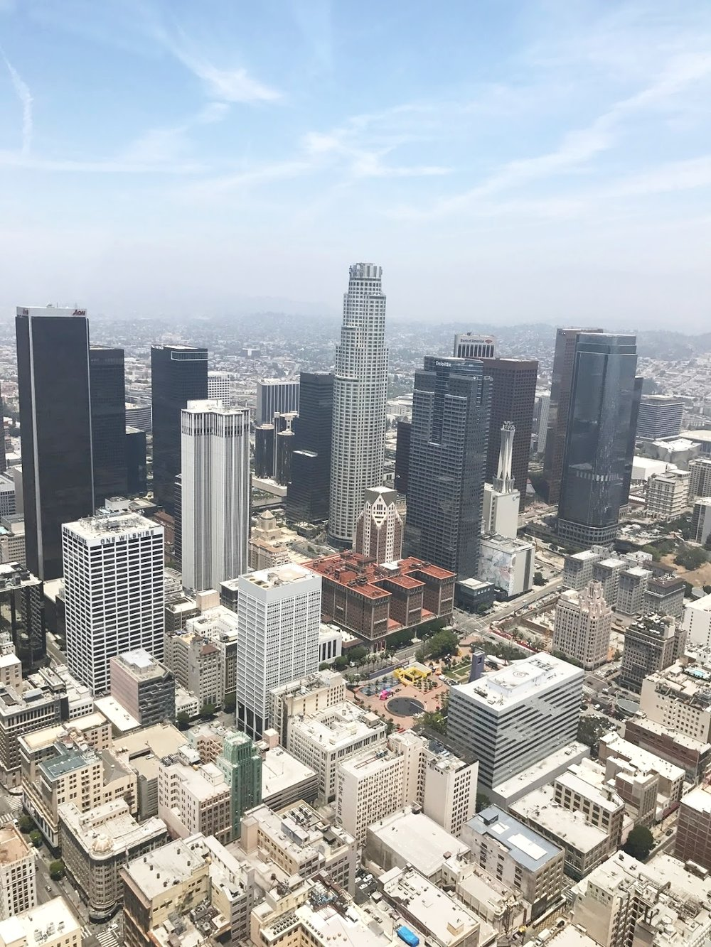 US Bank Tower | West Coast's tallest building at 1018 feet high