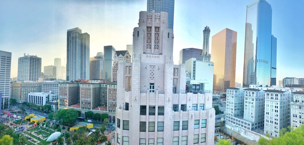 Rooftop Pano View