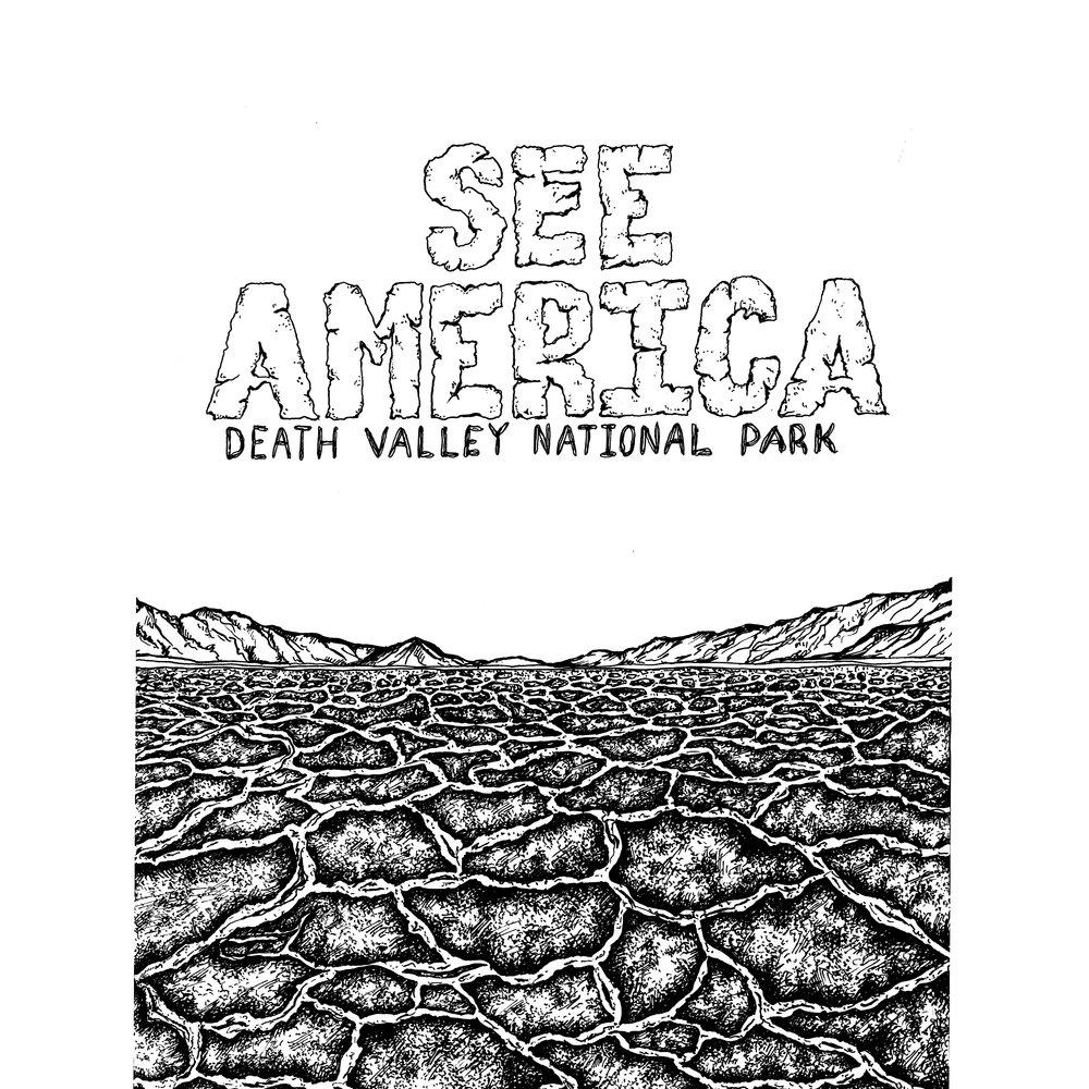 See America, Linework