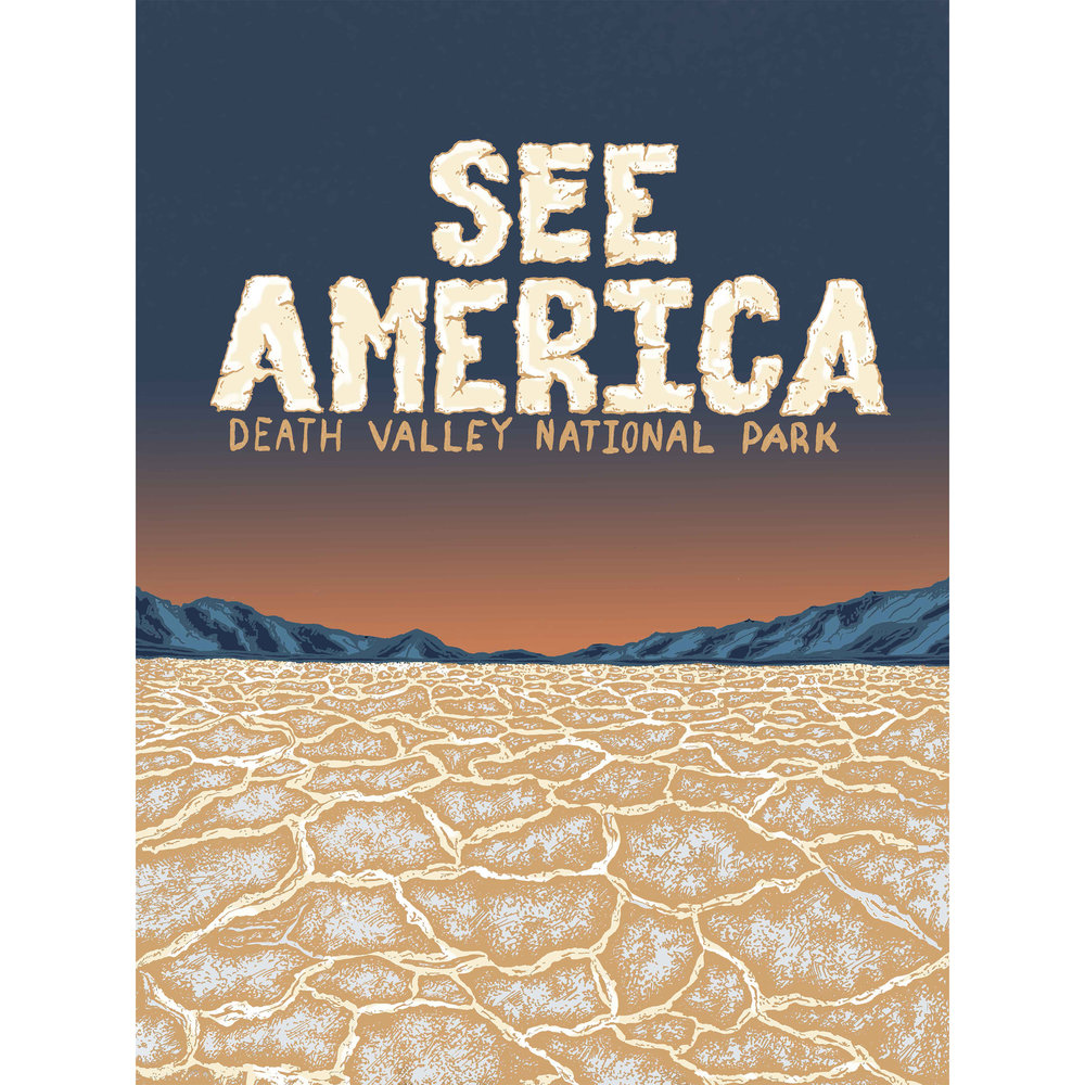 See America, Death Valley National Park