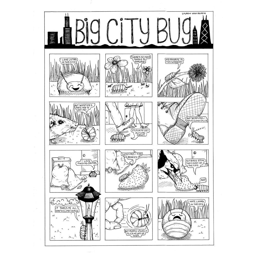 Big City Bug, Linework