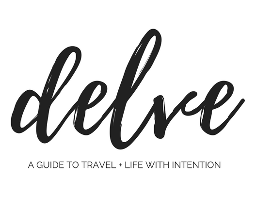 delve | minimalist travel + lifestyle