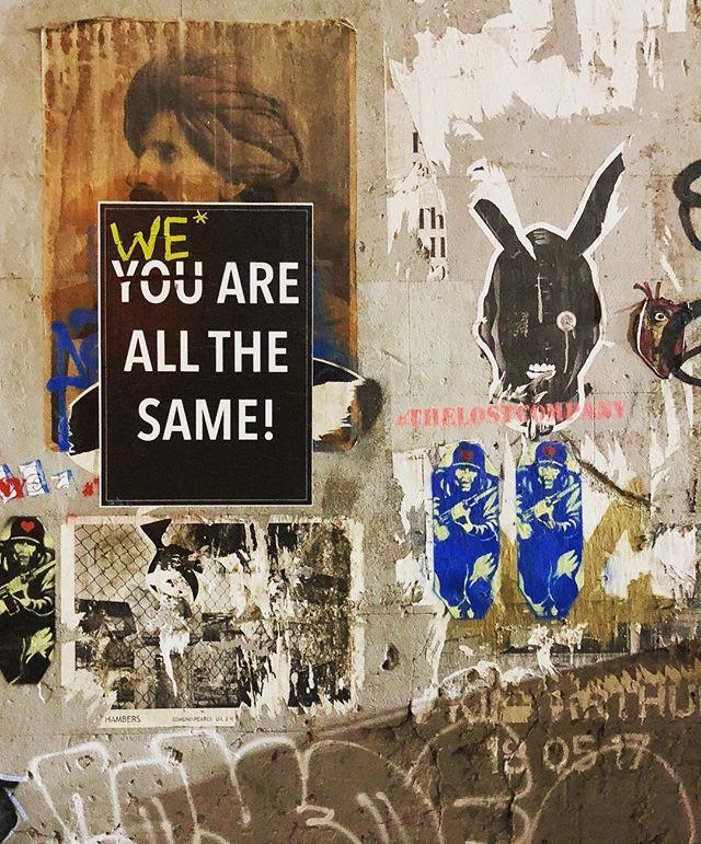 Street art words of wisdom. ❤️