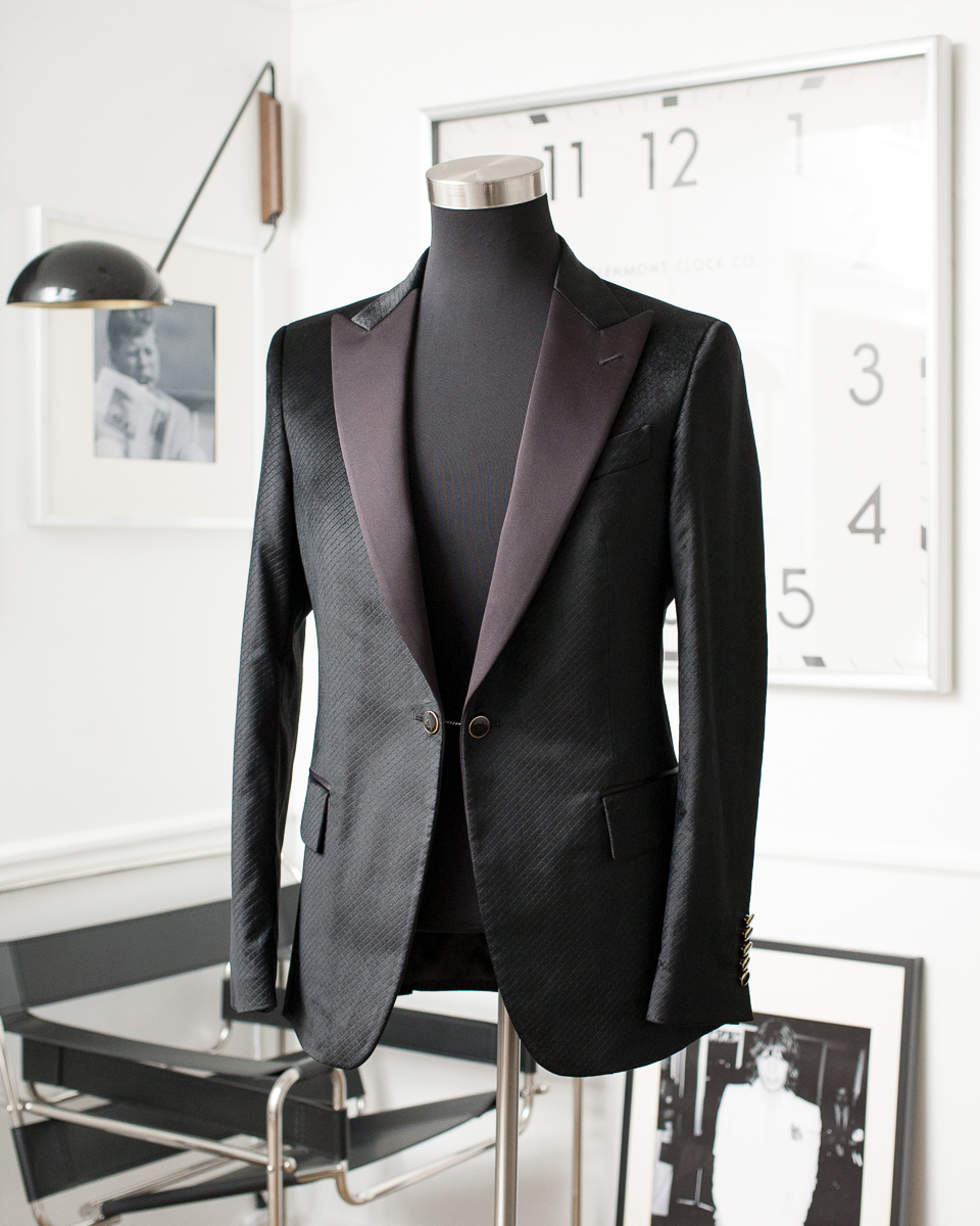 A Difference In Craft - Each garment is made specifically for its owner and constitutes an investment in time, materials and skill. Because of this, it takes an average of 10 weeks to complete an individual's first handmade jacket or suit.Jackets starting at $1095  |  Suits starting at $1595Shirting starting at $220