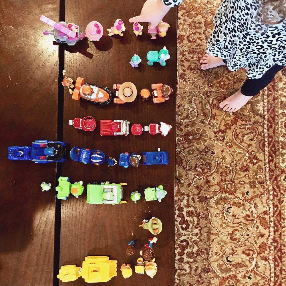 Toddler Hide and Seek is a great Montessori Activity for exploring their surroundings and refining their perception skills