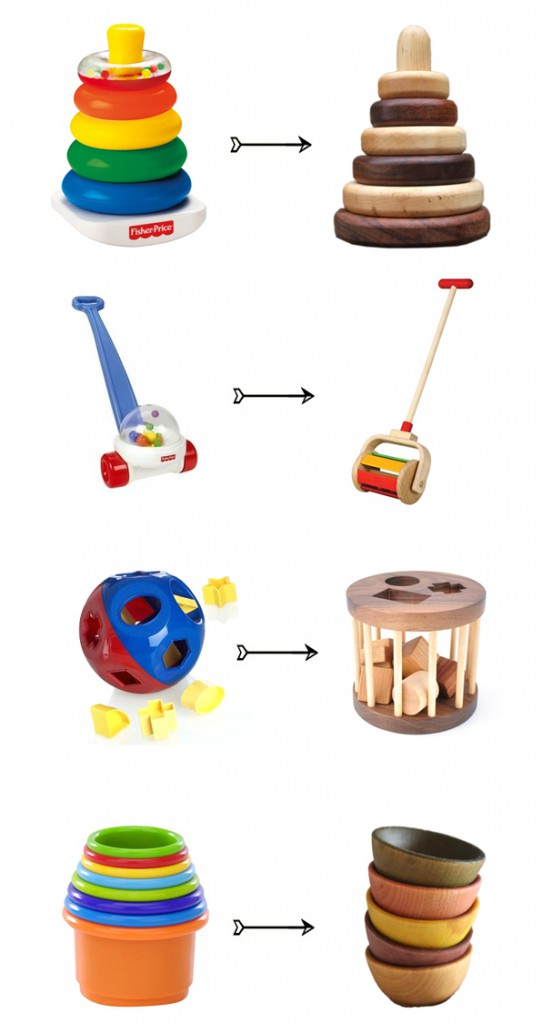 Plastic Toys vs. Wooden Toys. - Good Alternatives. image courtesy of  hellobee.com