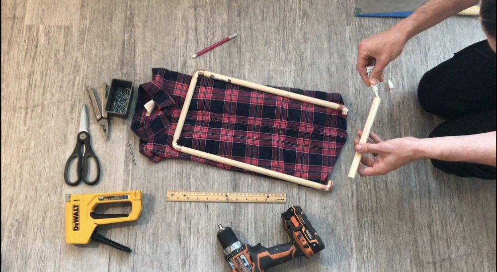 DIY Montessori dressing frames, How to kindergarten, toddlers, preschool, homeschool, busy, activities