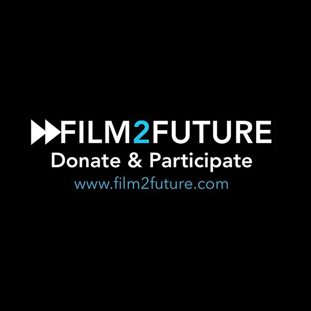 FUNDRAISING FOR THE 2017 FILM2FUTURE PROGRAM is in full swing. Go to www.film2future.com (link in bio) to donate, participate & keep the dream alive for all future students 💥💵💥#film2future #fundraiser #donate
