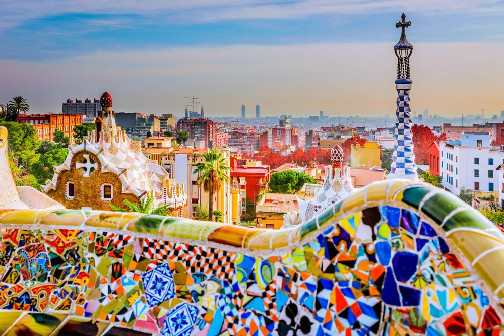 Park Güell one of the most beautiful places in Barcelona