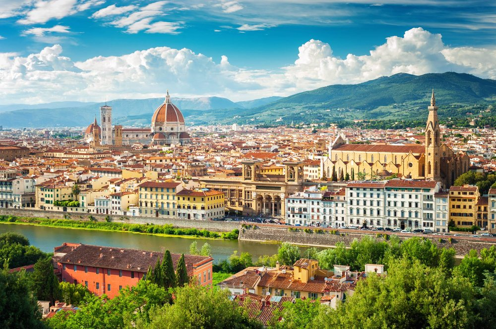 Be amazed by Florence skylines