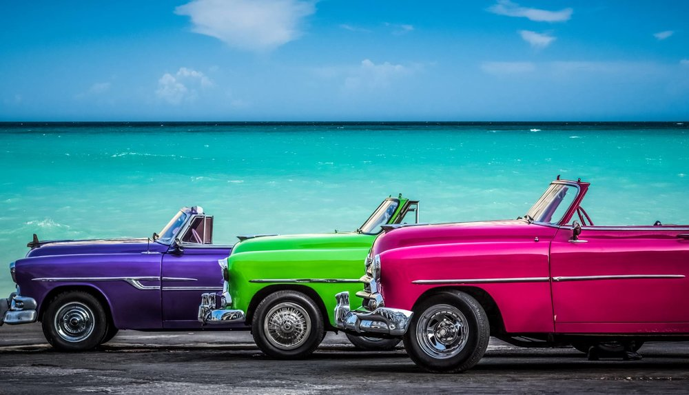 Havana's Typical Old American Cars