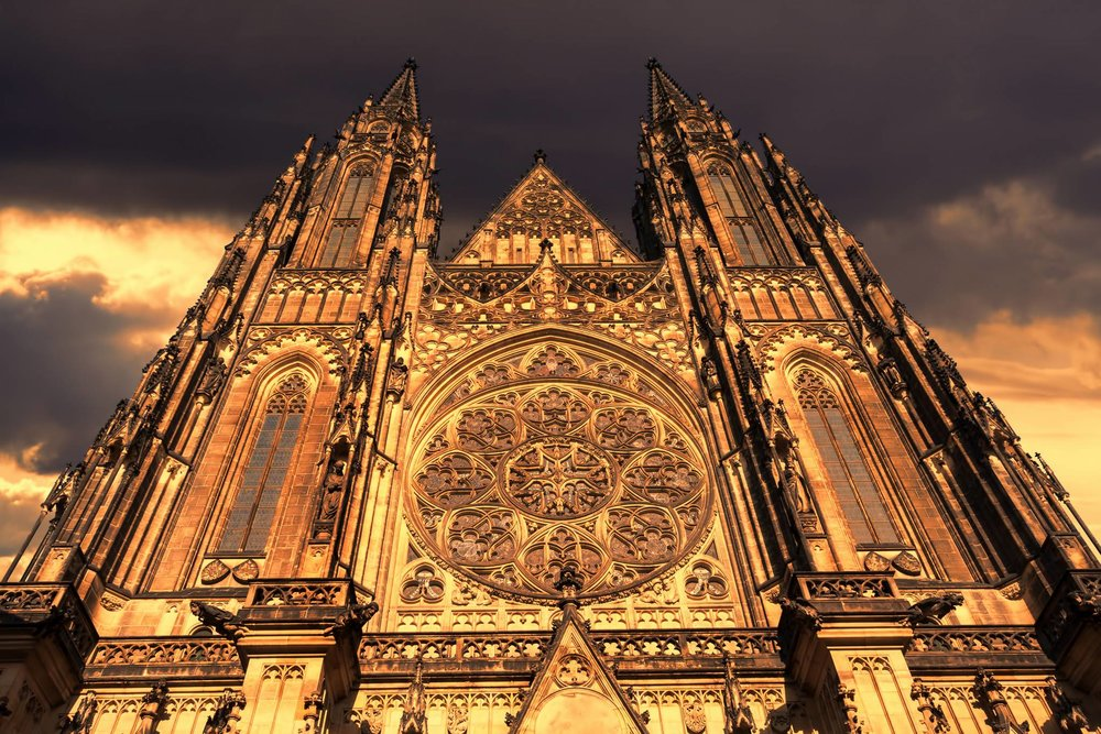 Visit Prague. Visit tha amazing gothic cathedrals