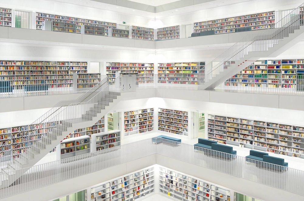 WOW! Stuttgart Library (Stadtbiliothek Stuttgart)