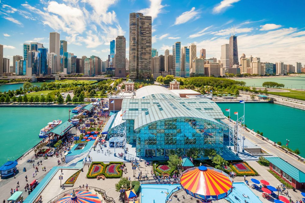 Let's have fun at Chicago Navy Pier