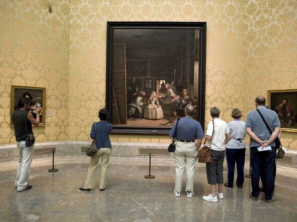 Meninas, Velazquez. Prado Museum Guide