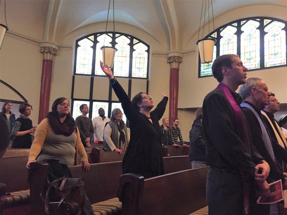 Liberation UCC is a progressive charismatic church.