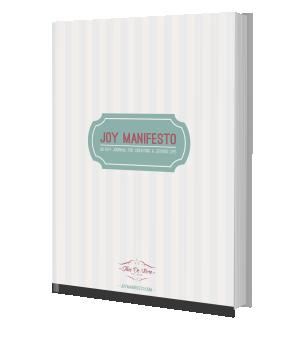 Joy Manifesto 90 Day Journal