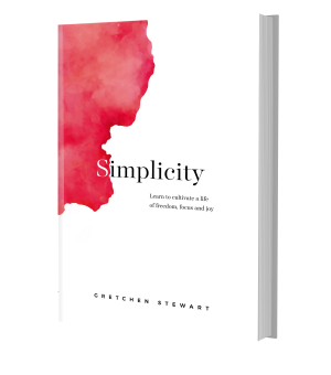 Simplicity hardcover on Amazon