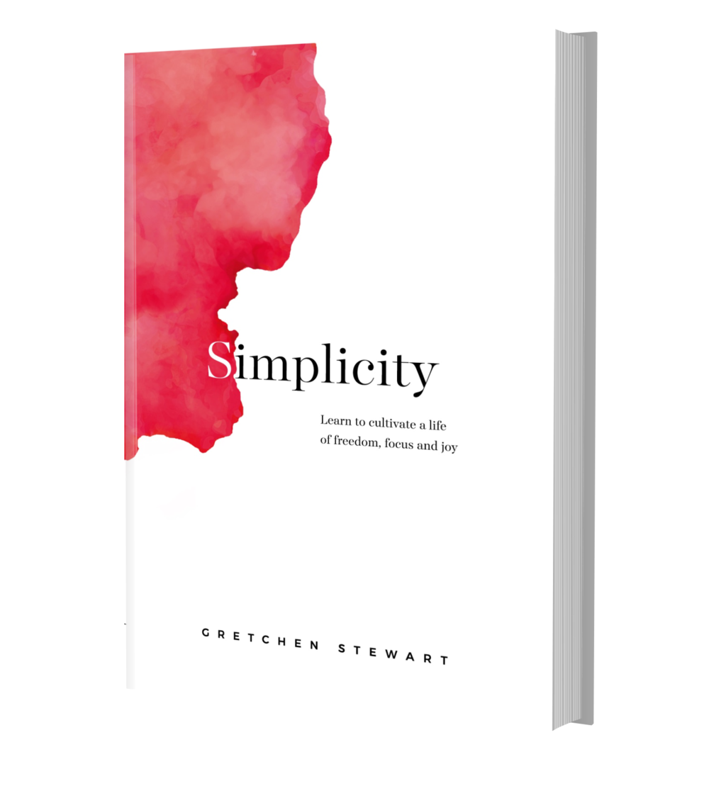Simplicity signed hardcover