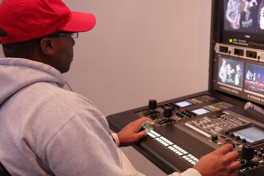 BTS Hofstra Graphics Control Room