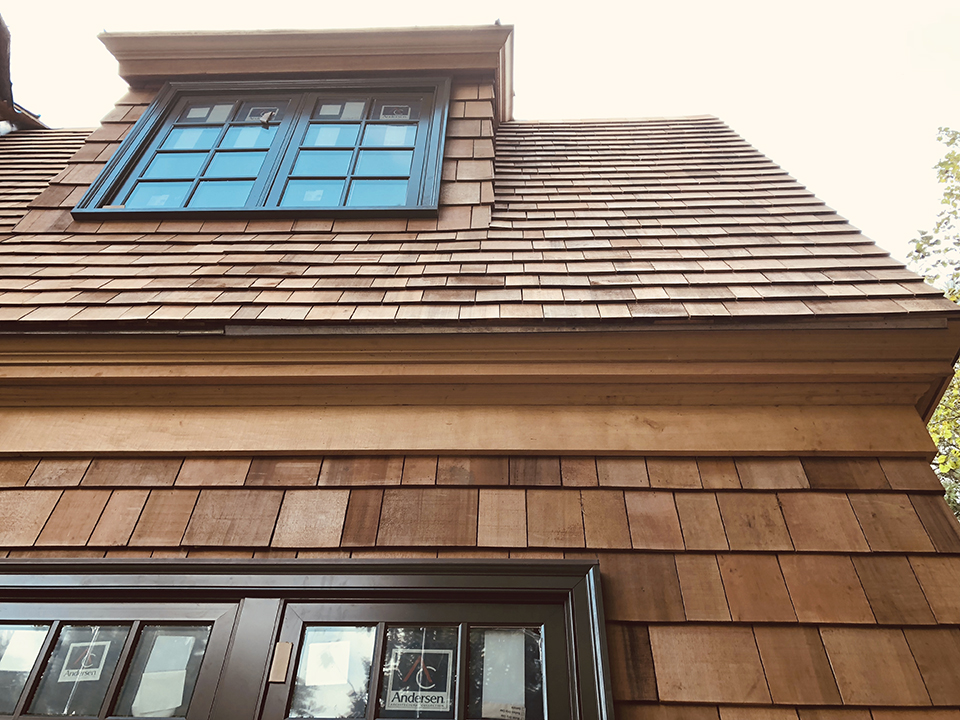 Cedar Soffit & Frieze