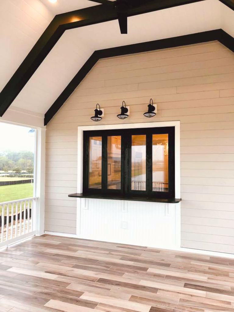 Folding Window Screened Porch