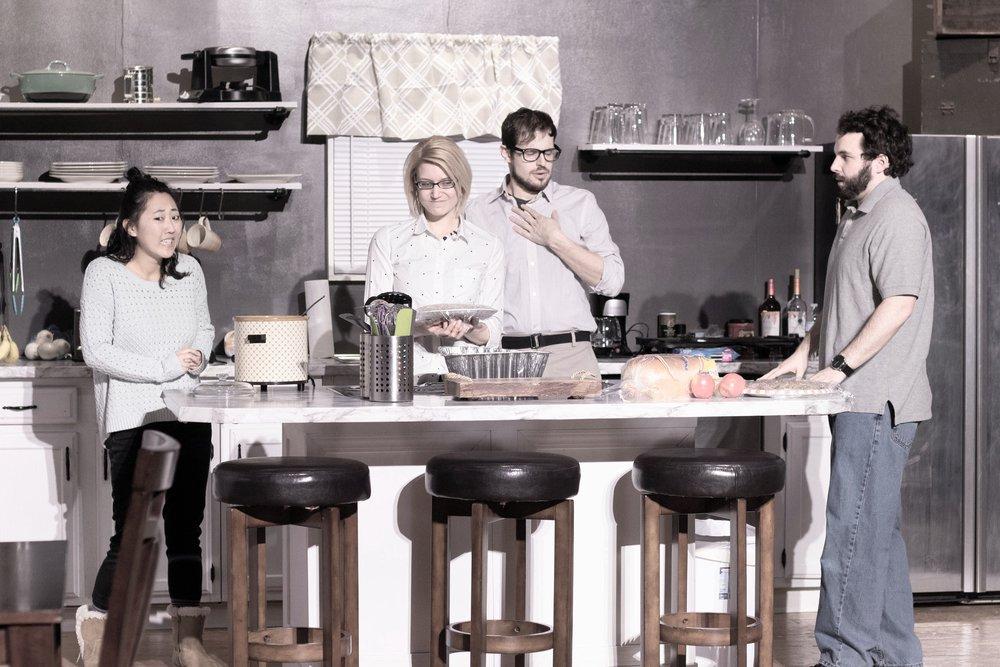 Kim Egan (Meg)- Afton Shepard (Sarah)- Brad Root (Fred)- Colin Landsberg (Ej)