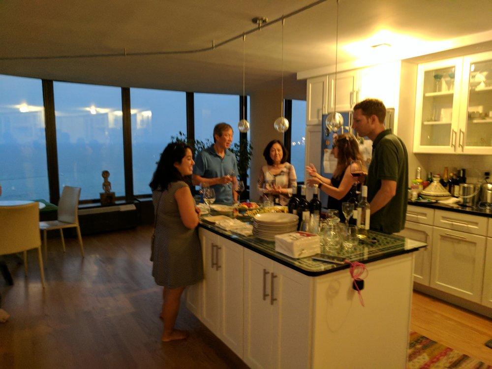 Family Style Sushi Night 2017