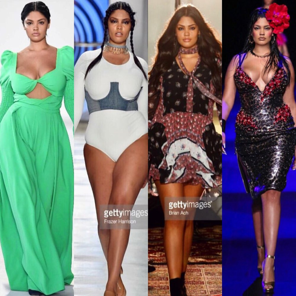 9. Jocelyn Corona @jocelyncorona_   Christian Siriano, Chromat, Rebecca Minkoff, The Blonds