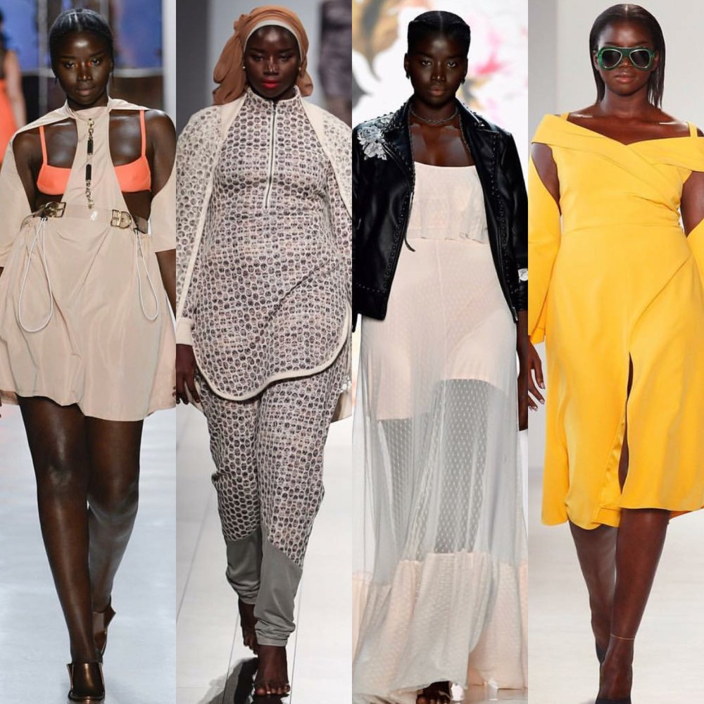 10. Seynabou Z Cisse @seynaboucisse_   Chromat, Project Runway, Torrid, Christian Siriano