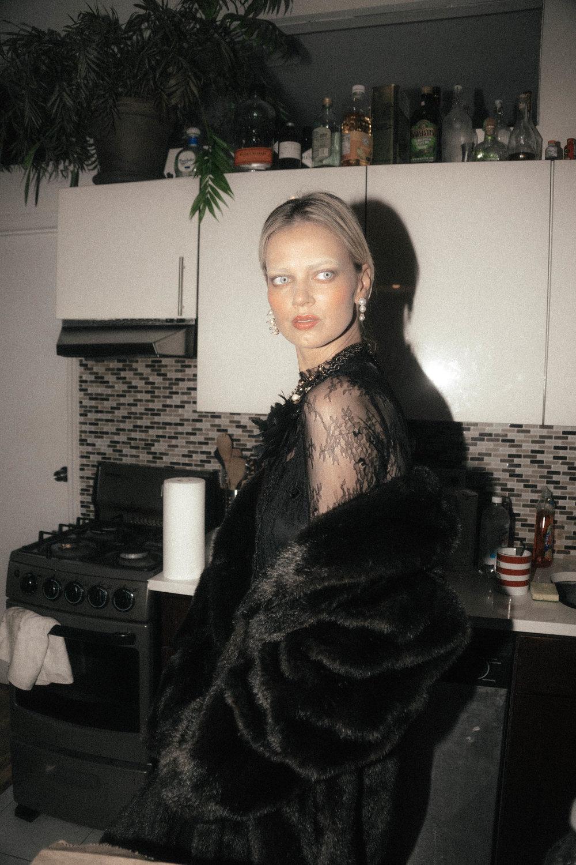 Model: Sanita Andersone, AMP