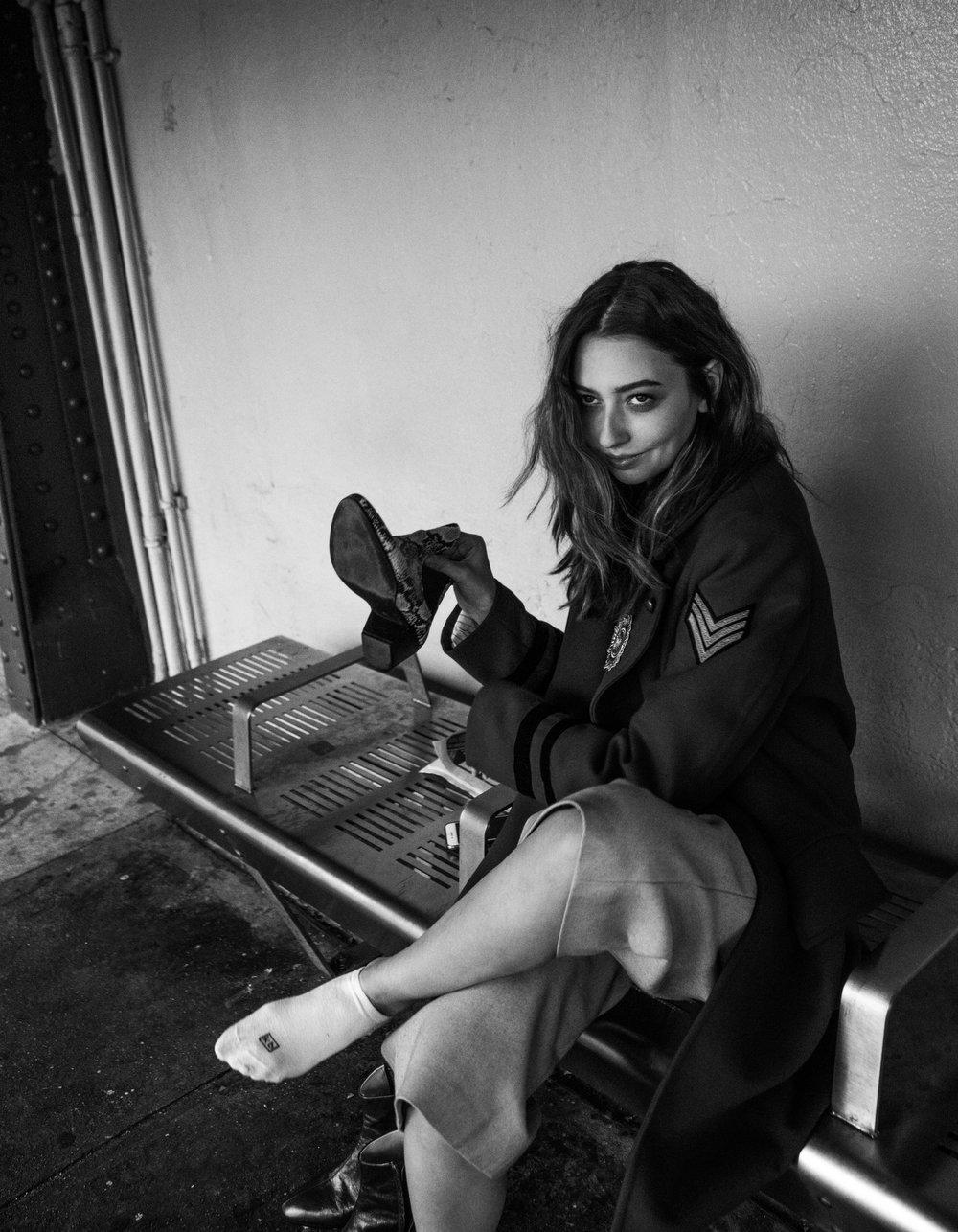 Model: Alexandra Alyward with AURA Models NYC
