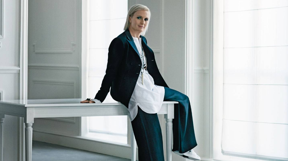 Maria Grazia Chiuri. photo by: Julia Hetta, Vogue