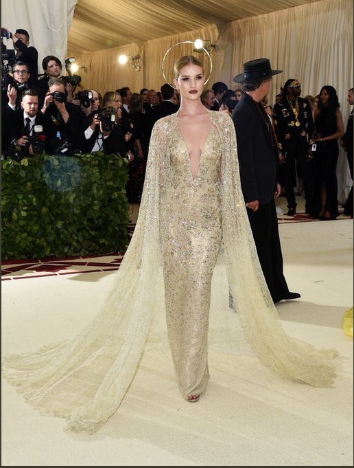 Rosie Huntington-Whitely in Ralph Lauren