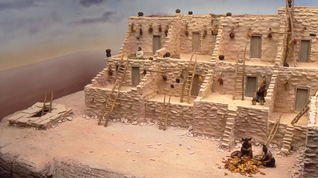 Hopi Diorama for The Field Museum of Natural History