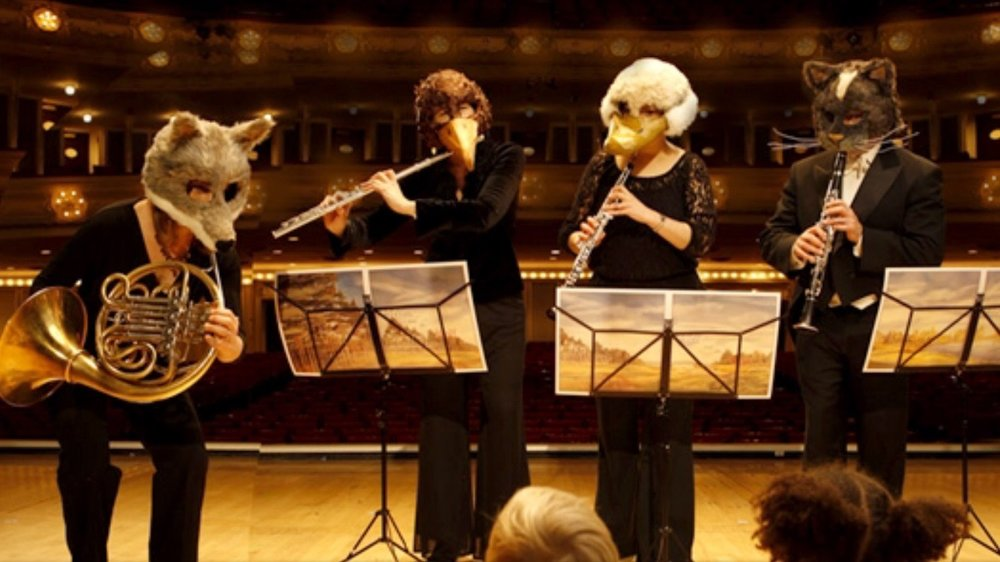 MASKS FOR  PETER AND THE WOLF , CHICAGO SYMPHONY ORCHESTRA
