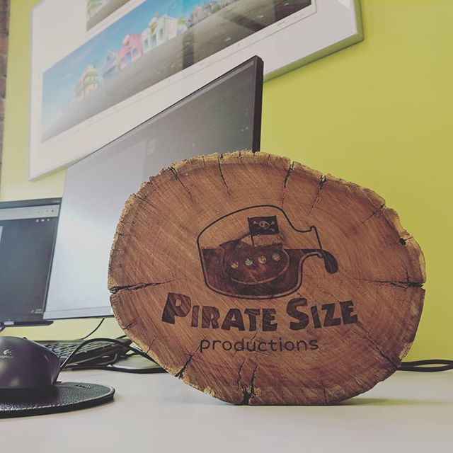 Oooo! We've got a sign!  Feeling pretty legit now.. #log #lasercut #logodesign
