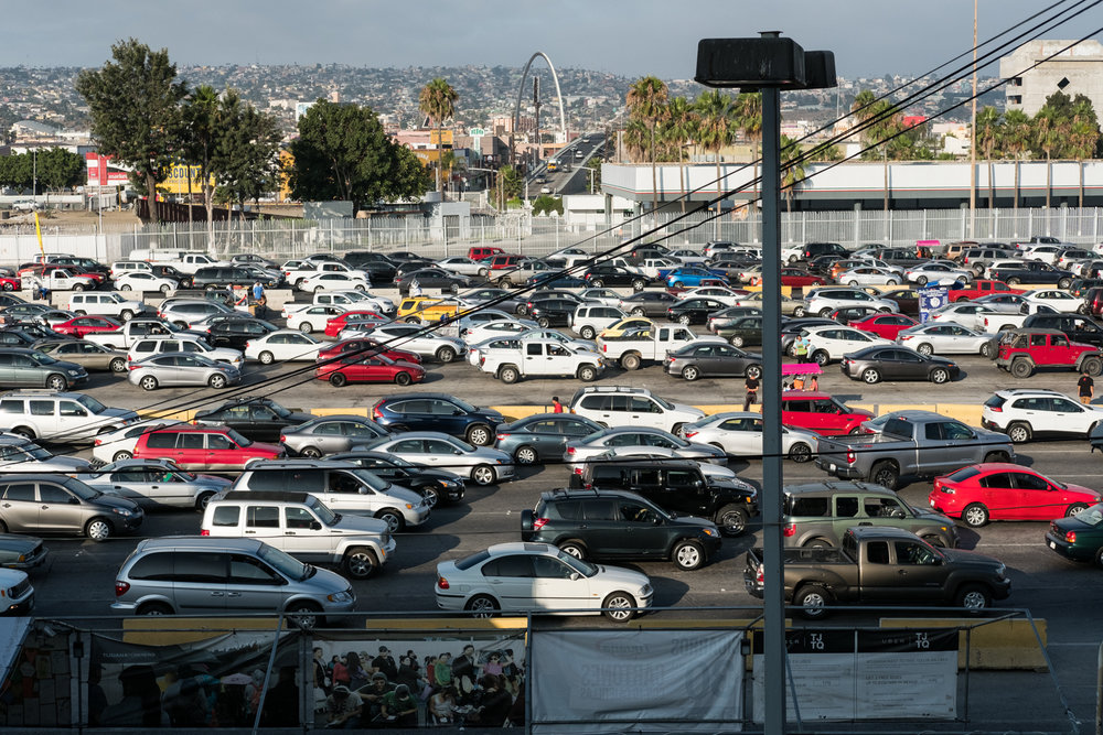 7. Hinterland - Entering the US through San Ysidro border crossing in Tijuana, Mexico.jpg