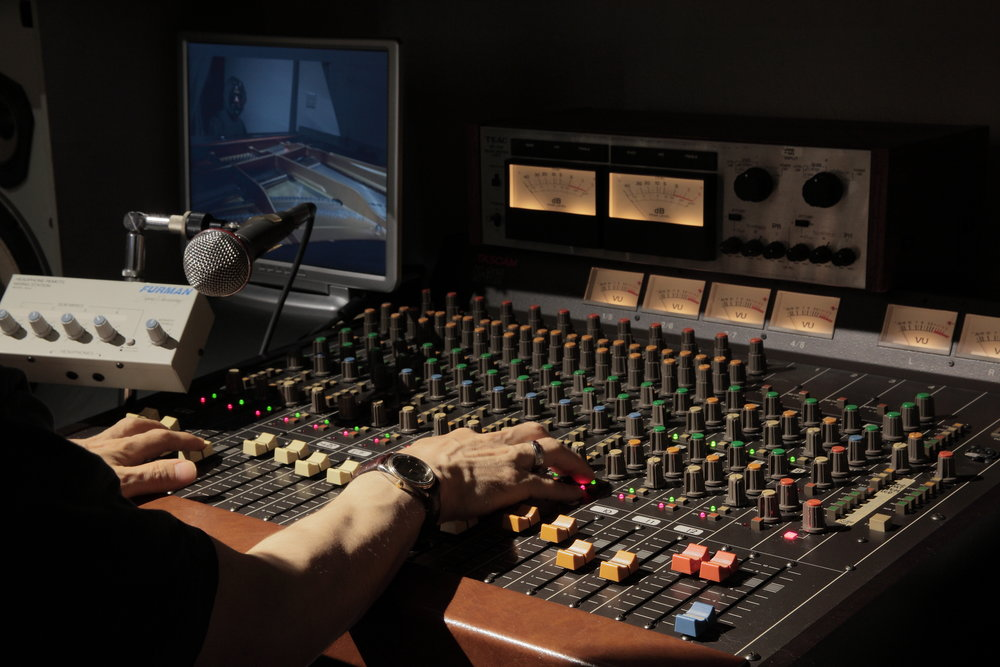 """Media and Sound Members of this team would work """"behind-the-scenes"""" upstairs to keep the lights, video,and sound running during regular services and sometimes other special services."""