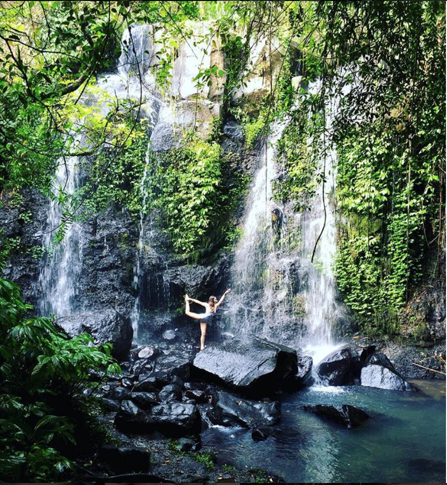 Yoga Pose Dancer Waterfall Bali.png