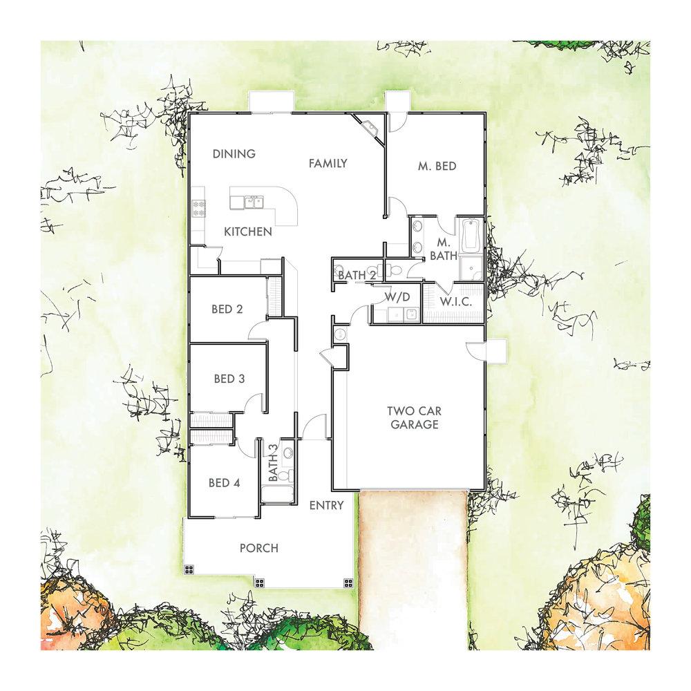 Lot 3 Floor Plan