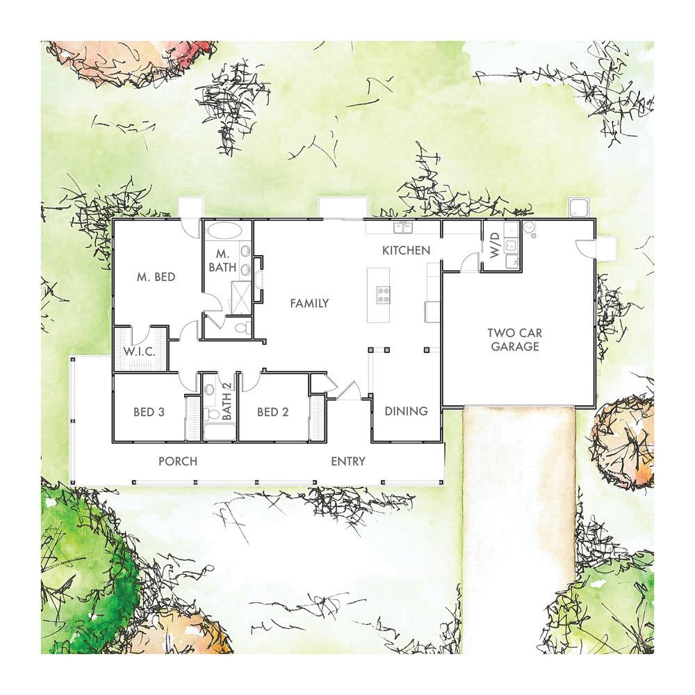 Lot 5 Floor Plan