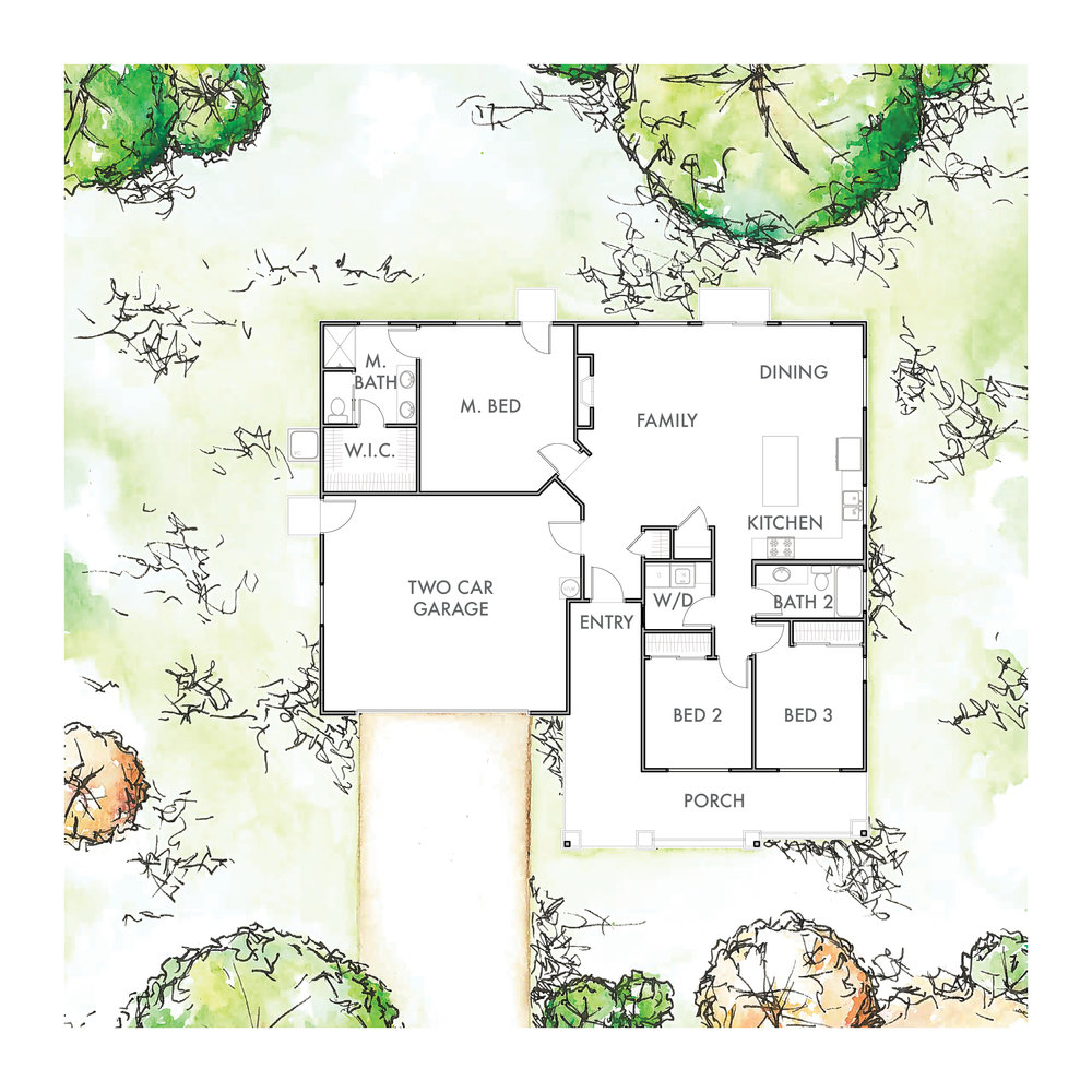 Lot 6 Floor Plan