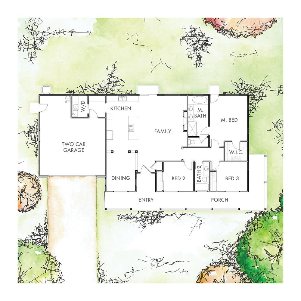 Lot 8 Floor Plan