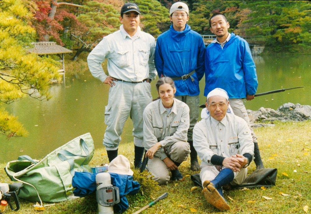 Sentei-shi, garden pruner