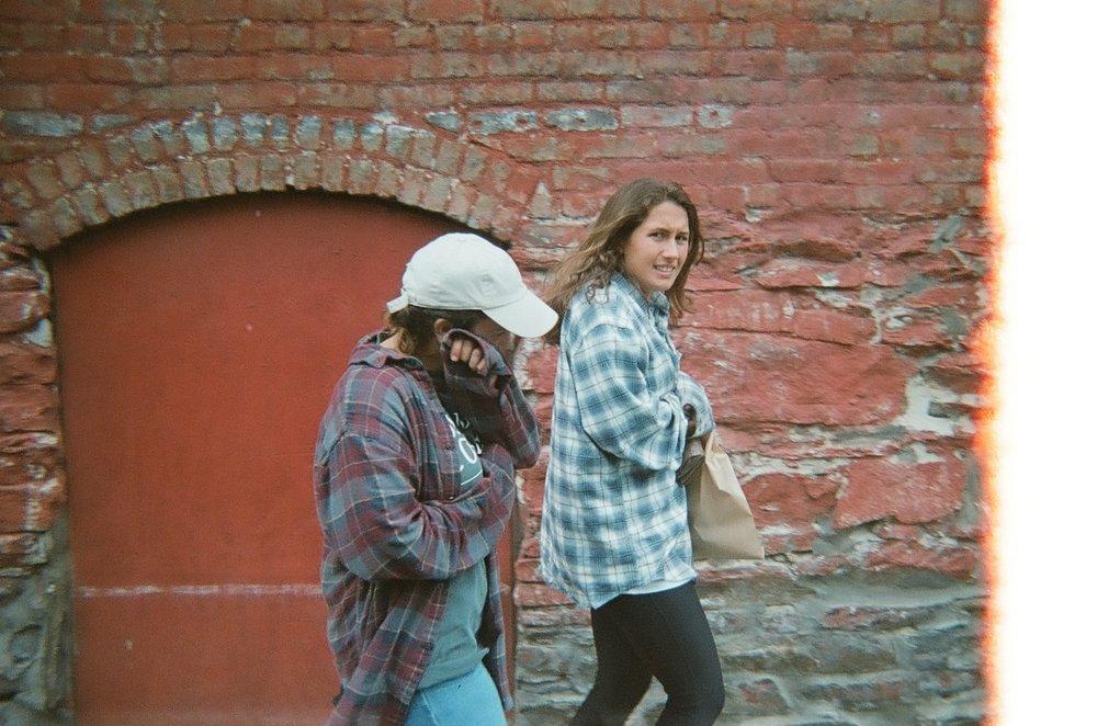 Kelly White & Naomi Klingler in Asheville.