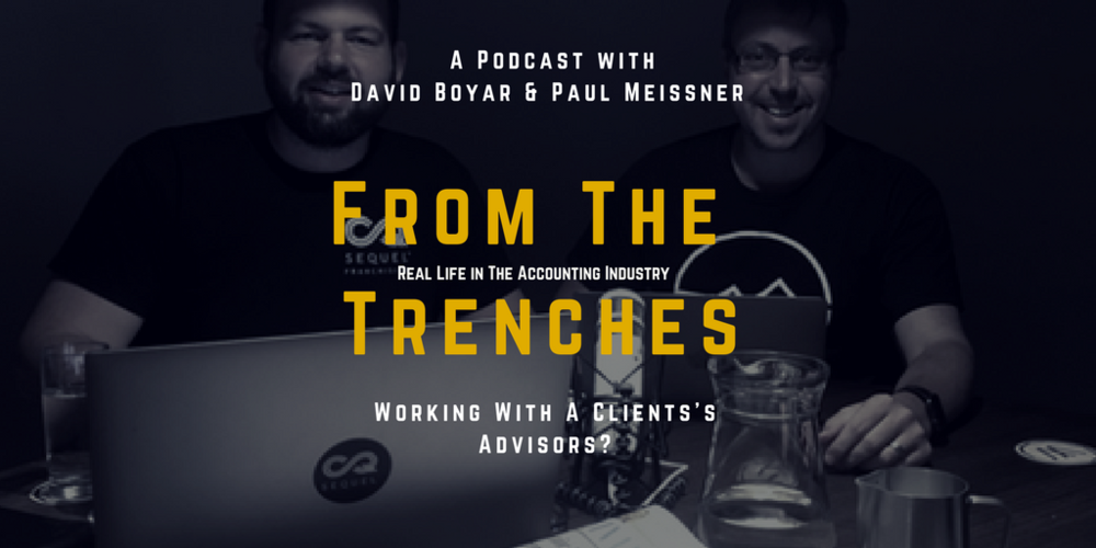From The Trenches - Real Life in The Accounting Industry Podcast