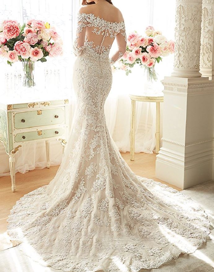 Wedding-Gown-Mermaid-Amazon